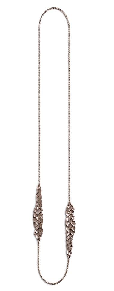 Morgaine necklace in silver