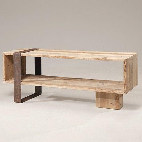 Fernsehtisch von Re-Wood | MONOQI