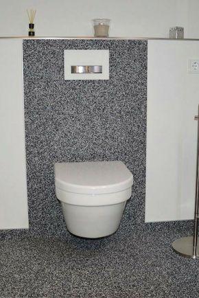 Luxury fugenloses Design auch im Bad sauber und fu warm leicht zu reinigen Steinteppich