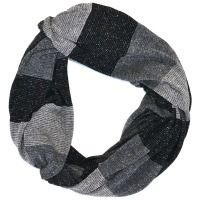 Borelli Twilight Silver Infinity Scarf - $69.00 - Introducing the Drift Collection of Borelli Design scarves.  These luxurious Infinity scarves go anywhere and with anything.   Perfect for a frequent traveller or completes any outfit.  #fireandshine #yoga #fashion #ethical #activewear #workout #loungewear #newarrival #wardrobestaple #versatile #accessorise #justarrived #borelli