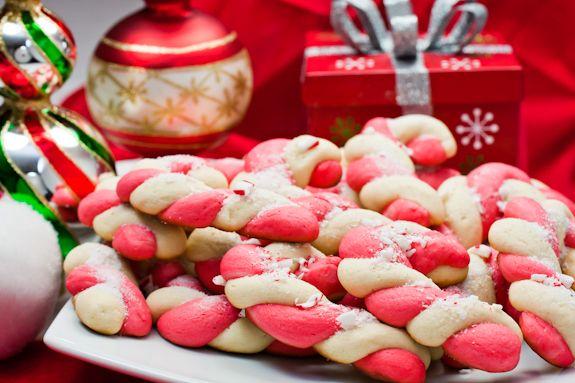 Ricette per Bambini del Piccolo Cuoco: I VERI Biscotti di Babbo Natale da Fare con Bambini (Biscotti Candy Cane)