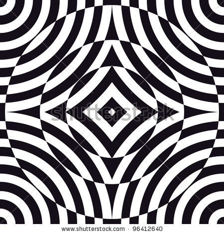 optical illusion art | ... art, is a style of visual art that makes use of optical illusions