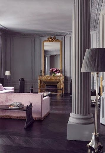 Florence baudoux haussmann paris apartment habitually chic new paris style