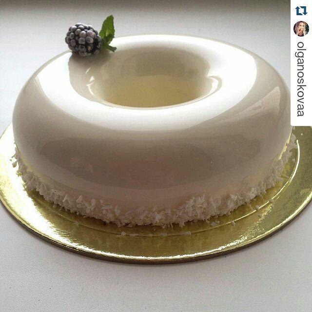 #Repost @olganoskovaa with @repostapp  Strawberry/Mint by pastry_inspiration