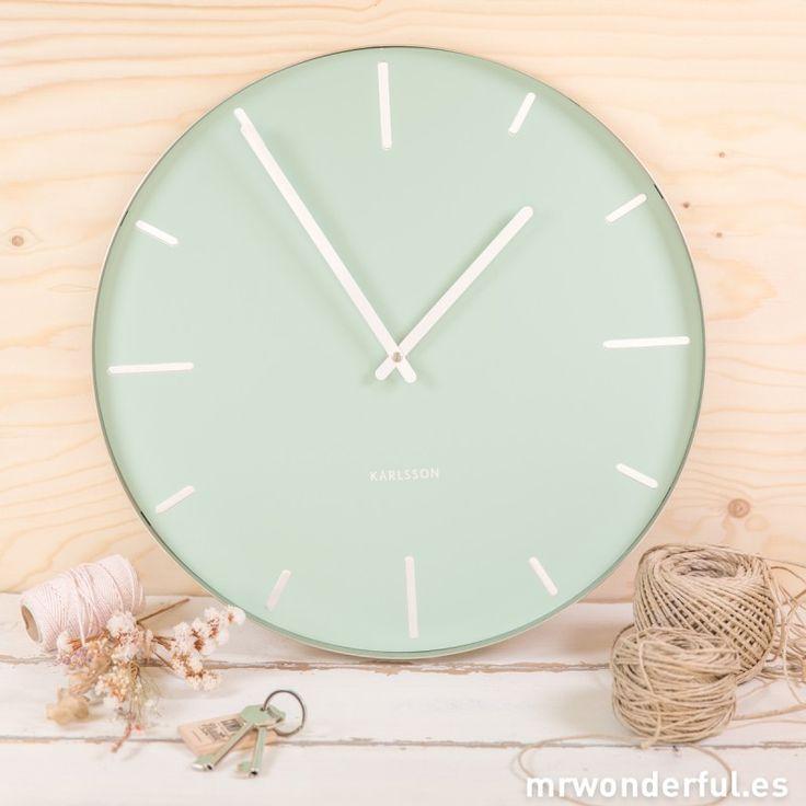 Las 25 mejores ideas sobre relojes de pared grande en - Reloj decorativo de pared ...