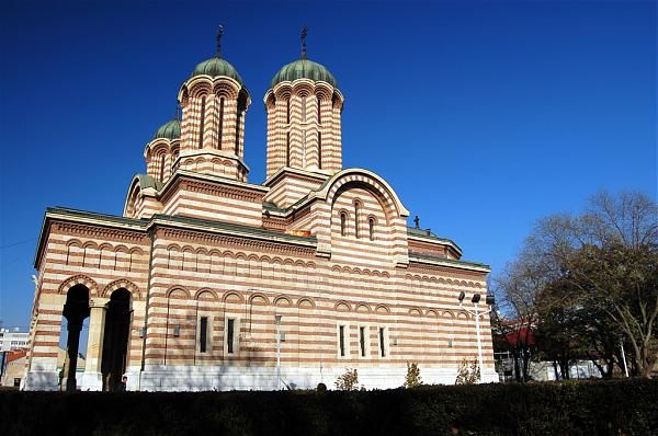 byzantine churches in craiova romania | Metropolitan Cathedral of Craiova is dedicated to St Demetrius, who is ...