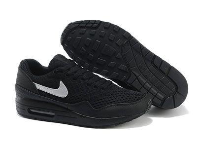Hot Nike Air Max 1 Biela Čierna Sport Topánky PRE Ženy