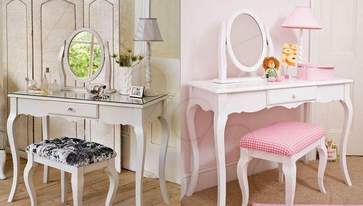 Yatak Odanıza Stil Sahibi Aynalı Makyaj Masaları - http://www.dekorvedekor.net/yatak-odaniza-stil-sahibi-aynali-makyaj-masalari/