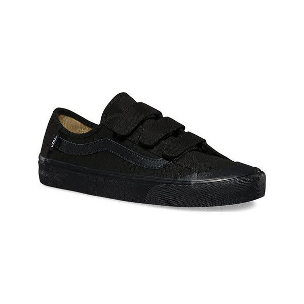 Men's Vans Black Ball Prizon issued Sneaker - Black/Black Casual ($62)❤️ I found my favorite pair of shoes I have searched far and wide for these:D it sucked when they discontinued the older version