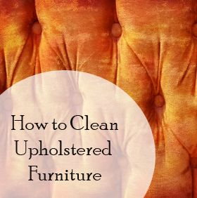 how to clean hair oil from upholstery