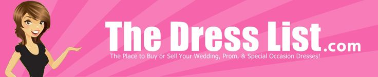 Buy and Sell New or Used Prom and Wedding Dresses at TheDressList.com #prom #cheappromdress #forsale