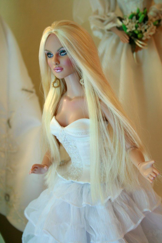 #bridal #dolls Jewelianne Repaints/ 1..6 qw