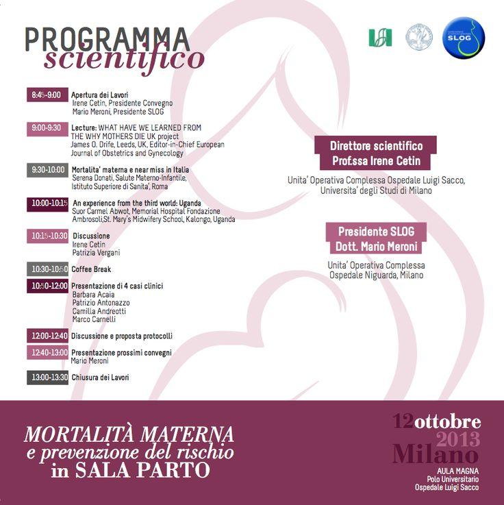 """Depliant side B """"SLOG EVENT"""" in Milan 2013"""