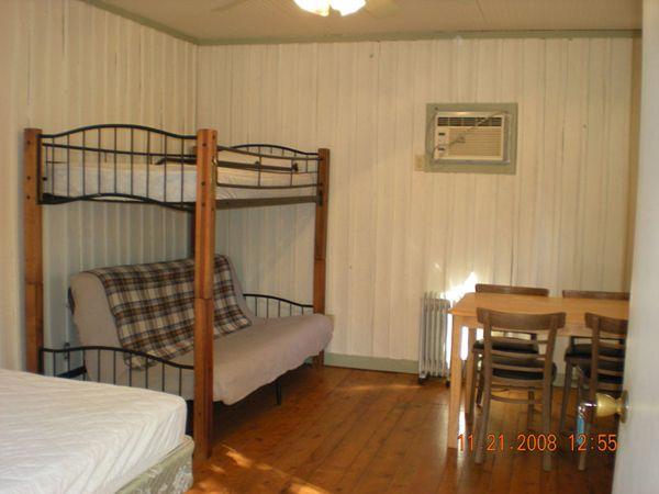 lake cabin interior | Lake Hartwell Camping and Cabins