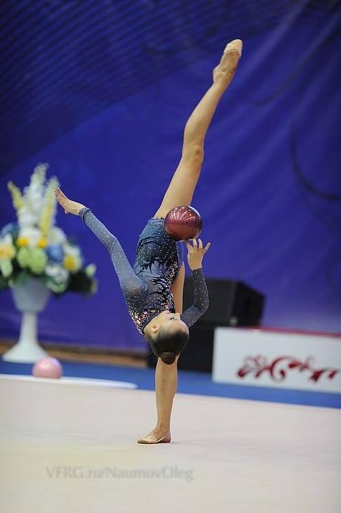 Mid illusion - rhythmic gymnastics  I love this costume