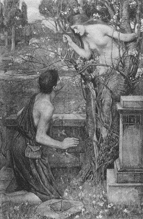 Waterhouse, Phyllis and Demophoön, 1907