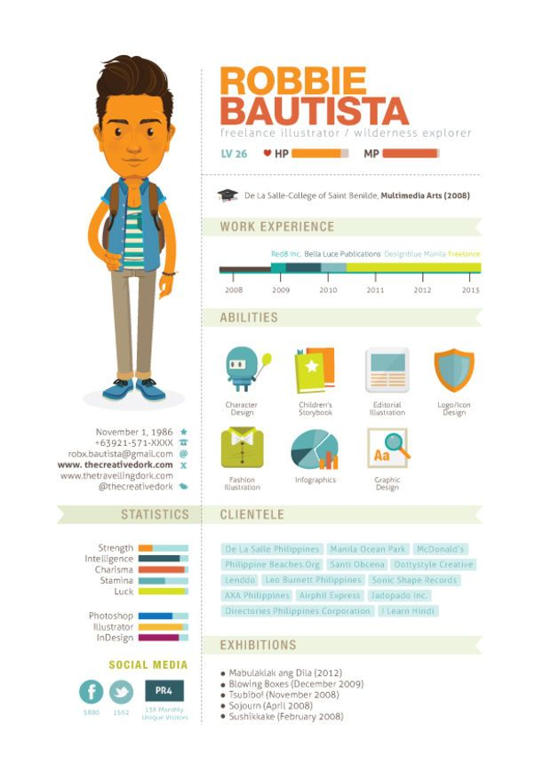 20 cool resume - Cool Resumes