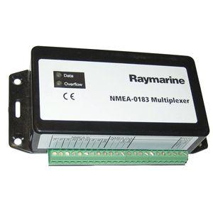 Raymarine E55059 NMEA 0183 Multiplexer - https://www.boatpartsforless.com/shop/raymarine-e55059-nmea-0183-multiplexer/
