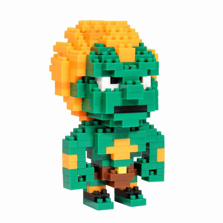 Street Fighter Blanka Pixel Bricks  Manufacturer: Paladone Products Ltd. Enarxis Code: 015591 #toys #Street_Fighter #Blanka #videogames #bricks