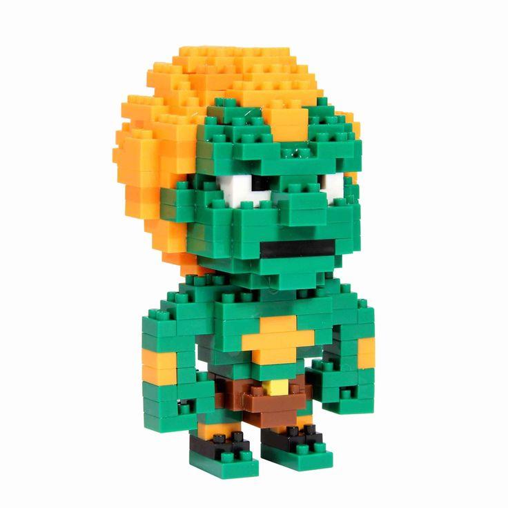Street Fighter Blanka Pixel Bricks  Manufacturer: Paladone Products Ltd. Enarxis Code: 015591 #toys #Street_Fighter #Blanka #videogames #bricks
