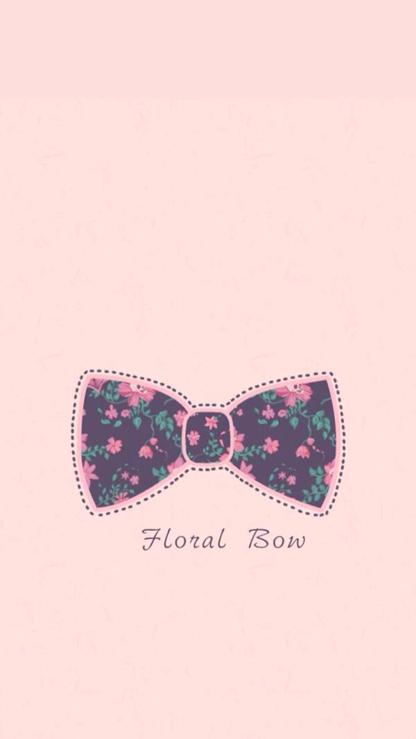 Cute Vintage Wallpaper Floral Bow ♡ Wallpapers ♡ Pinterest Wallpaper