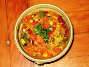 Vegetarian Chili - Wild Rose Friendly!