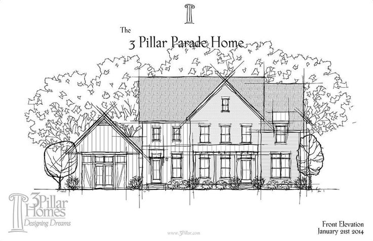 The Parade of Homes 2014 | Floor Plans | 3 Pillar Homes