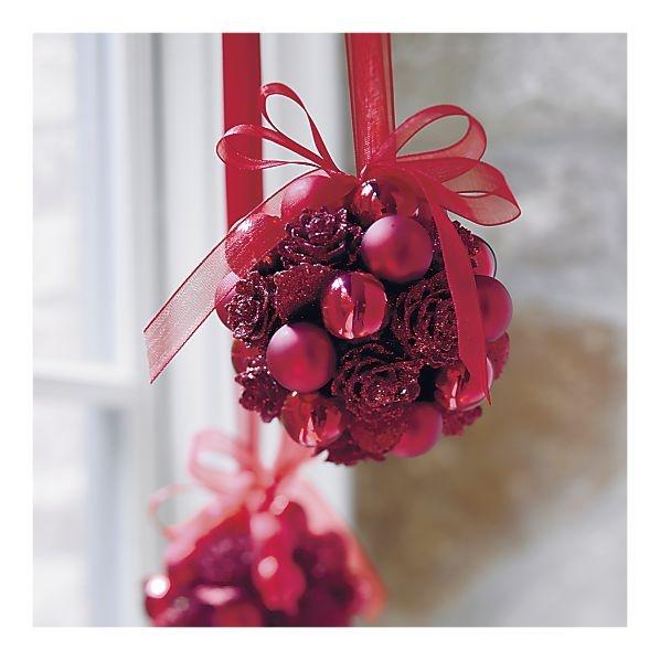 Diy Sprinkle Ornaments: 40 Best Mistletoe/Kissing Ball Images On Pinterest