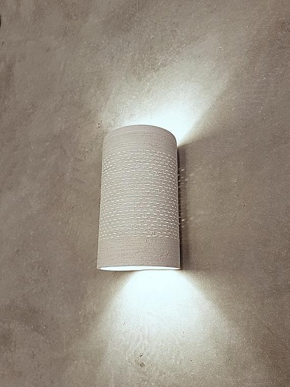 Medium Cylinder Wall Light Bedroom Lighting Living Room