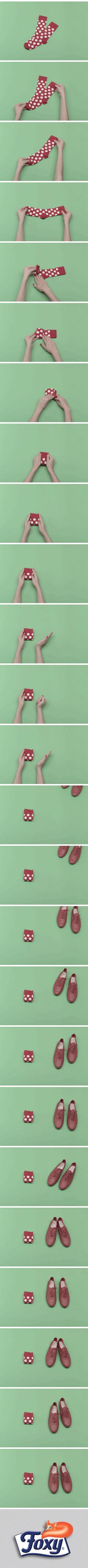 Il vero mistero della vita è: perché perdiamo sempre uno dei due calzini?   La soluzione forse però esiste!   Scopri tutti i segreti per organizzare al meglio gli spazi nel tuo guardaroba su: http://www.foxymega.it/minimize/impara-tecnica-di-piega.php?id=Calzini  #foxy #minimize #ordine #spazio #calzini