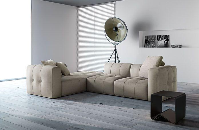 Samoa Sense Lux Corner Sofa (2) - Sofas and Armchairs - Catalog - ITALIA HOME