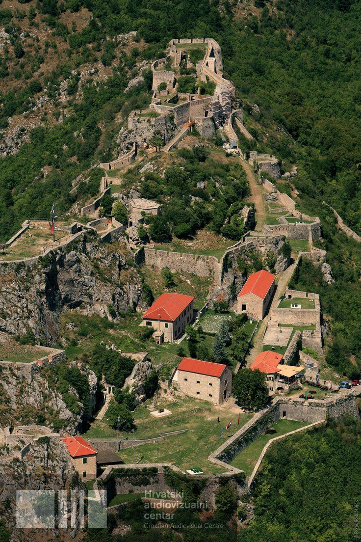 Knin fortress. Hrvatska. Croatia