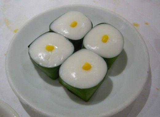 Tapioca is the delightful heart and soul of many Thai desserts.