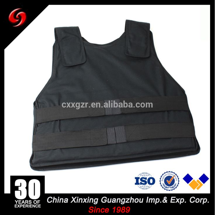 Lightweight Concealable PE material bullet proof IIIA 3A police vest
