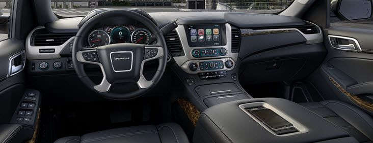 Step inside the 2017 Yukon XL Denali full-size luxury extended SUV and experience the large-SUV standard for refinement and innovation. 20.4 inches longer than the standard Yukon Denali, XL Denali delivers you more space for cargo and more legroom for third-row passengers. With three rows of first-class seating, your passengers will enjoy the same style and comfort that you do.