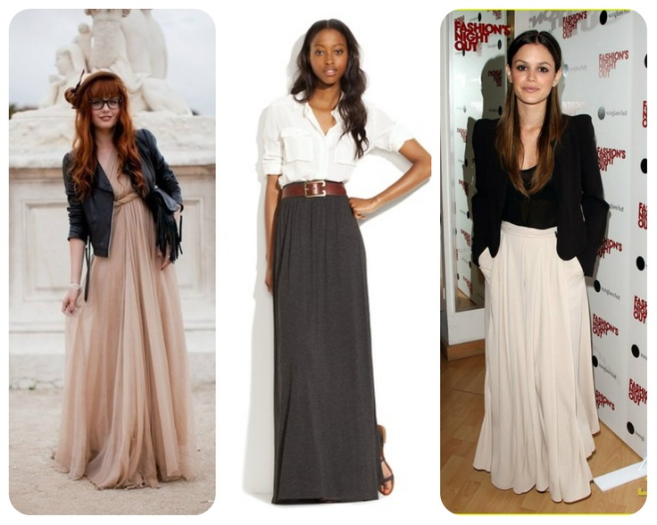 maxi skirt style - Google Search