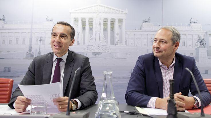 SPÖ fettet Abgeordnetengehalt von Christian Kern um 6129 Euro auf - kurier.at