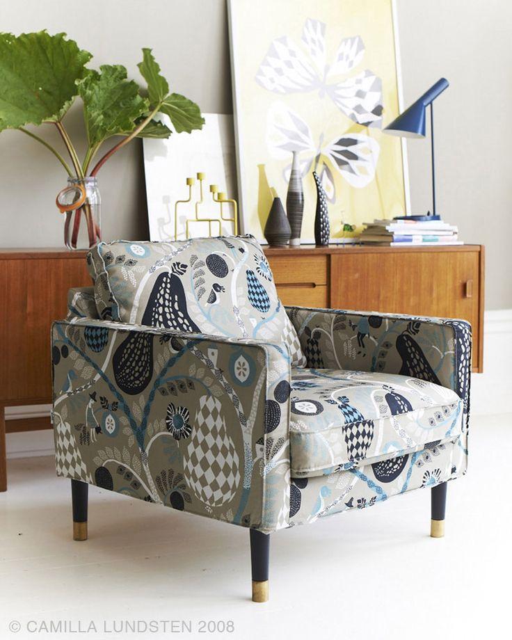 Las telas de Littlephant ideales para revestir muebles | Estilo Nordico