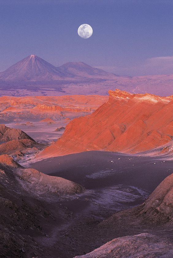 The Atacama Desert is found on which continent?