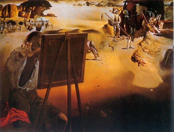 Impressions d'Afrique (Afrykańskie impresje), 1938 olej, płótno; 91,5x117,5 cm  #salvadordali #salvadordalipolska