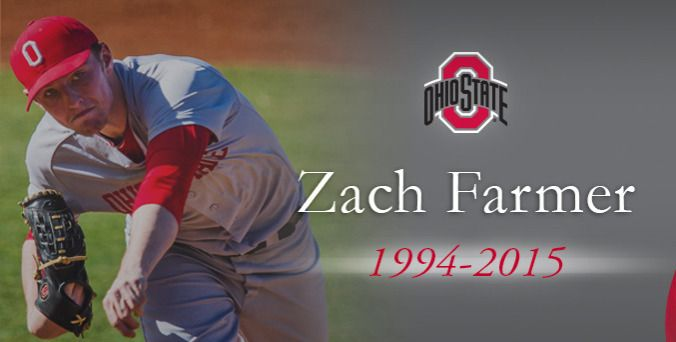 Ohio State Buckeyes Official Athletic Site - Baseball A freshman pitcher on the 2014 Ohio State baseball team, Farmer was diagnosed with acute myeloid leukemia April 28, 2014. After successful treatment, Farmer went into remission on June 6, 2014.