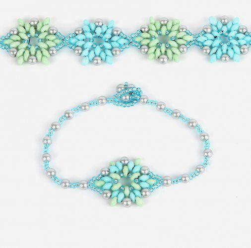 Lotus Flower Bracelet | Take a Make Break | Beads Direct