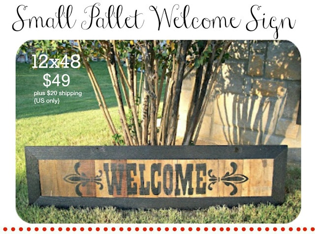 large pallet sign: Pallet Projects, Three Mango, Size Pallet, Welcome Signs, Pallet Ideas, Pallet Signs, Pallets, Mango Seeds, Craft Ideas