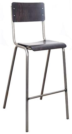 Student från Si.i som är en serie som innehåller denna barstol. Barstolen kan väljas i två höjder och flera olika färgval men även där sitsen samt ryggen är klädd. I serien Student finns även stol med eller utan armstöd. #barstolar #dialoginterior