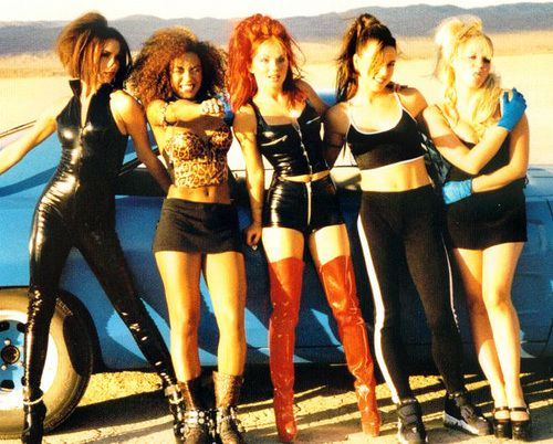 "Spice Girls...""say you'll be there"" video...this is like, the greatest music video of all time. OF ALL TIME."