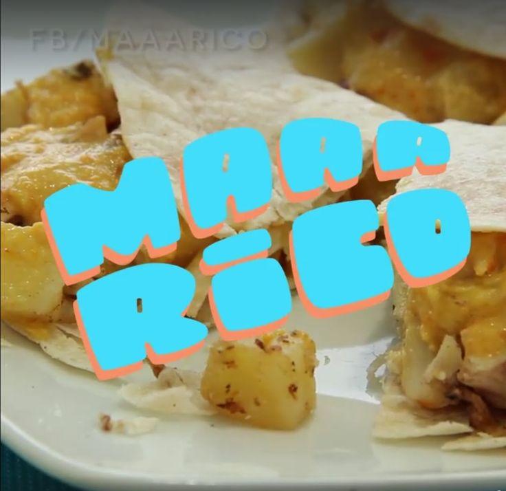 Taco con ají de pollería - #MaaaRicoySimple