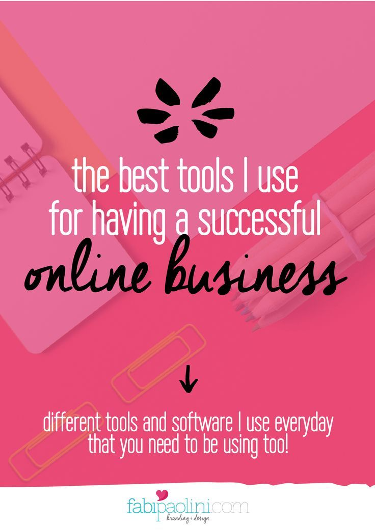 The best tools to have an online business for entrepreneurs and small business owners.