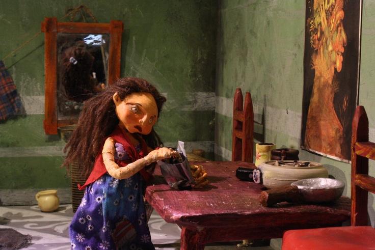 LA MADRE. cortometraje de animación, 7 min, producciones CUCURUCHO 2012.