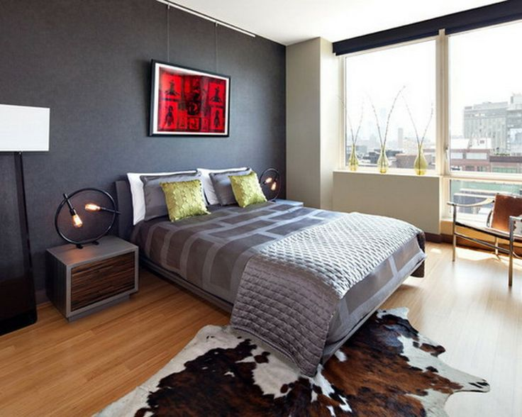 West Chelsea   Modern   Bedroom   New York   By Noha Hassan Designs   Wall  Color