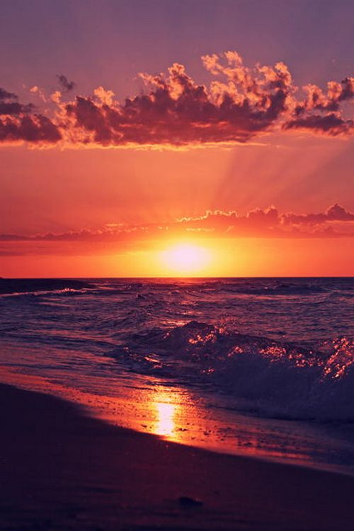 sundxwn:  sunset beach.. by İlker Cihat